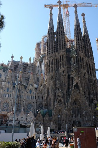 outside of La Sagrada Família