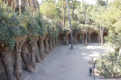 at Parc Guell