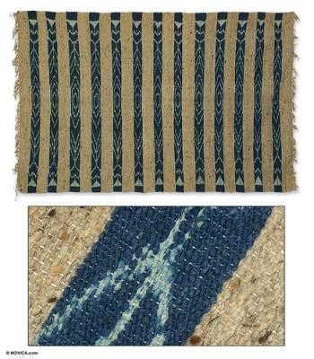 Novica Blue Rivers rug