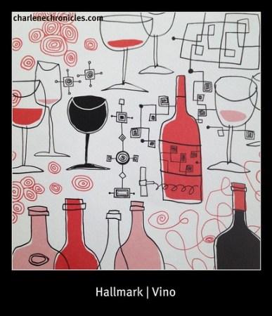 Hallmark Wine Card