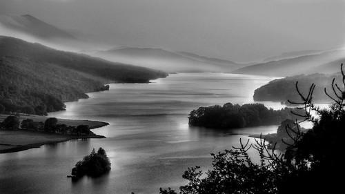 Queens View Loch Tummel Scotland
