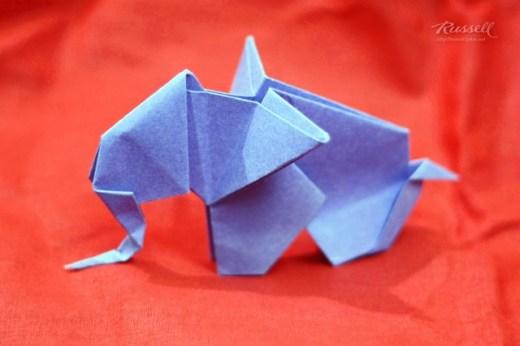 Origami Elephant 1