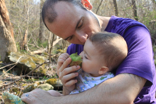 Manassas Gap Hike - Sagan Tries Kiwi