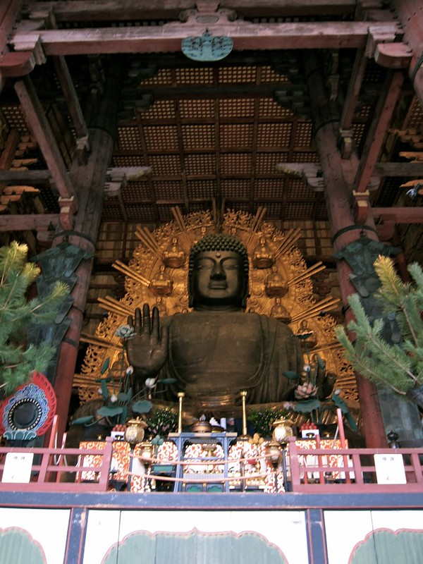 The Daibutsu (Great Buddha) of Nara