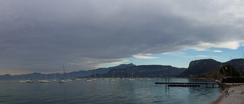 view of the lake from Bardolino