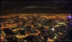 Melbourne view from Eureka Skydeck 88 TheEdge