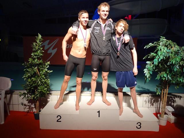 Jón, Pauli & Markus on the Ægir-podium in February