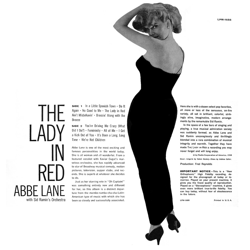 Abbe Lane - The Lady in Red b