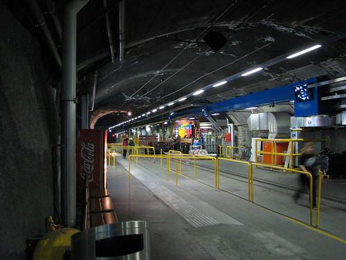 Stația terminală de la Jungfraujoch