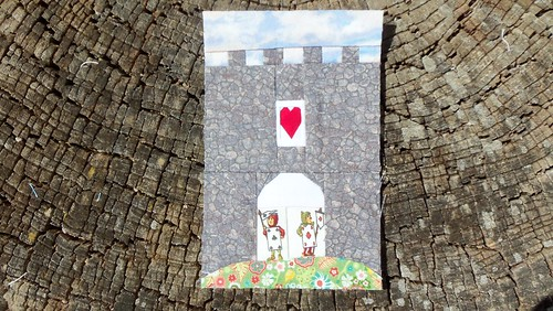 Alice in Wonderland- Queen's castle... by ruthiequilts