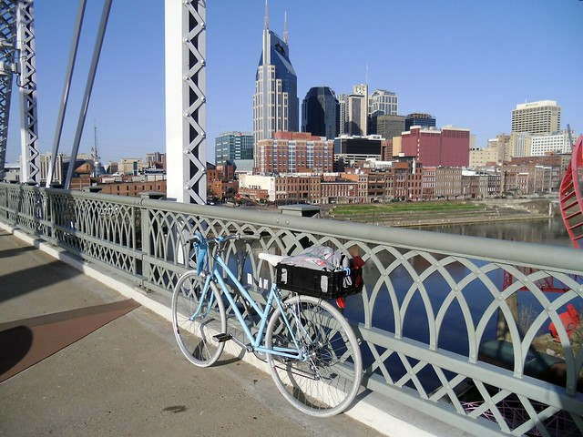 Biked to work this morning :)