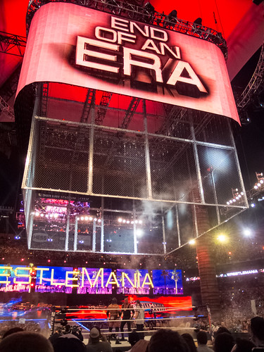 WWE Wrestlemania 28 - Undertaker vs HHH