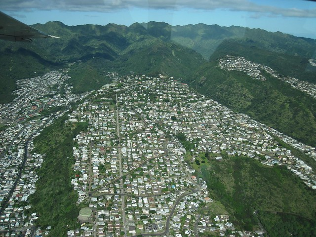 Aerial Picture of Honolulu