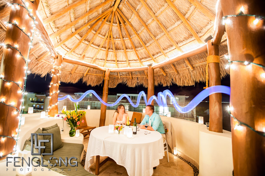 Light Painting Wedding | Jessica & John's Destination Wedding | Playa del Carmen, Mexico | Riviera Maya Quintana Roo Destination Wedding Photographer