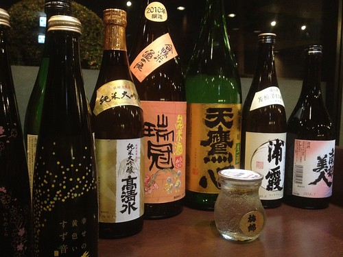 今日いただく日本酒たち@おとなのひな祭り
