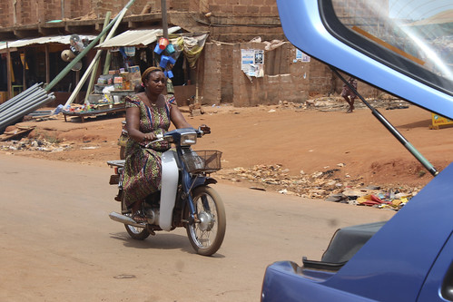 Iheaka Enugu State Nigeria Female Motorcyclist by Jujufilms