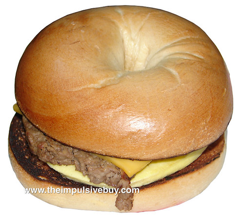Dunkin' Donuts Angus Steak & Egg Sandwich