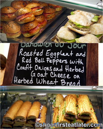 Bouchon Bakery at Rockefeller Center- sandwiches