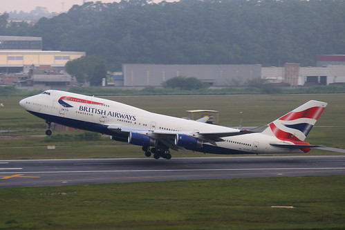 British Airways | Boeing 747-400 @ SBGR