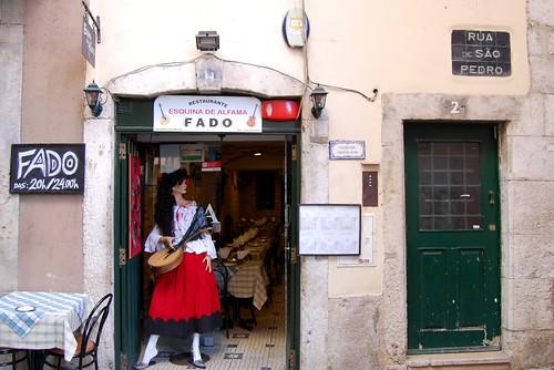 Alfama, Restaurante Esquina de Alfama, Rua de São Pedro