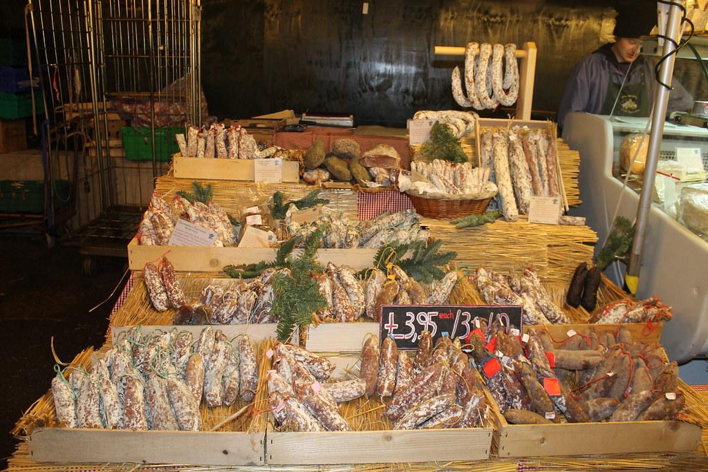 Embutidos en Borough Market