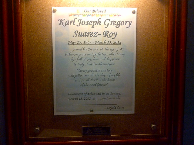 Karl Roy was 44