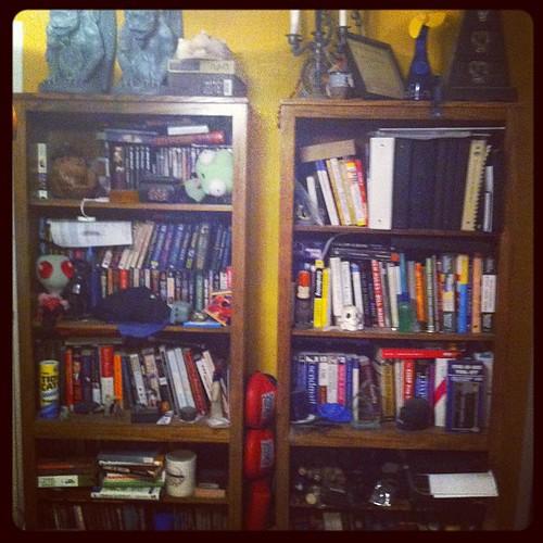 James bookshelves