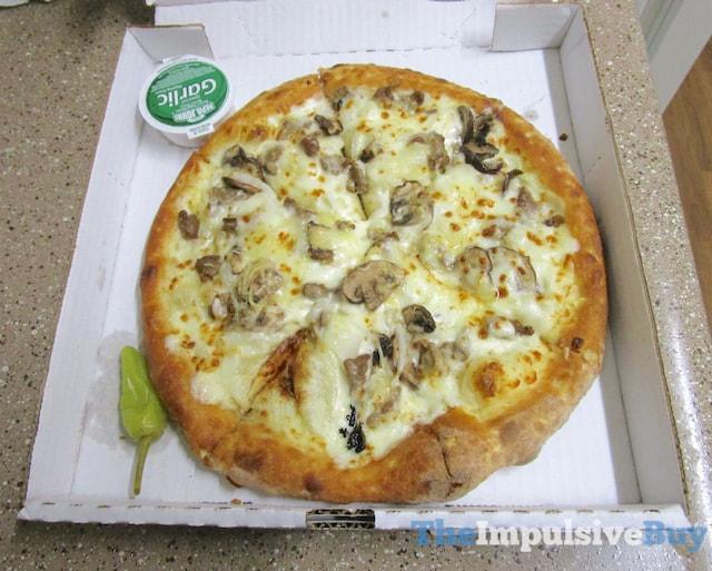 Papa John's Mushroom Swiss Burger Pizza