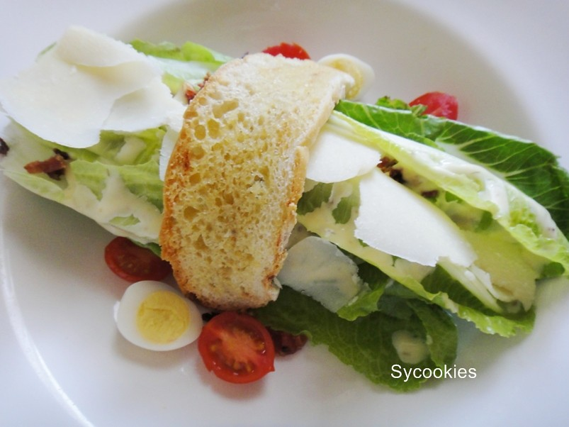 3.traditional caesar salad @ southern sun grayston sandton