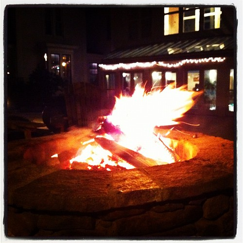 Fire Pit at the Harraseeket