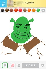 Shrek, Draw Something App