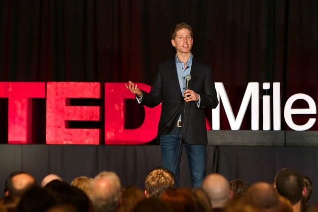 TedxMileHigh emcee Jeremy Duhon