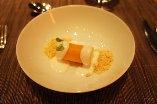 Pre-Dessert: Mango