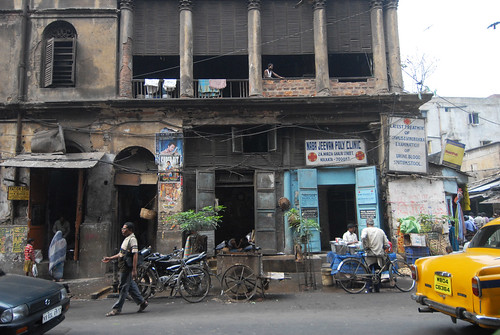 A clinic on Mirza Ghalib Street in Kolkata.