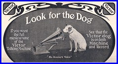 1904 RCA VICTOR TALKING MACHINE WITH VICTOR DOG