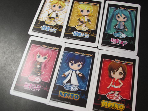 The AR cards (chara)