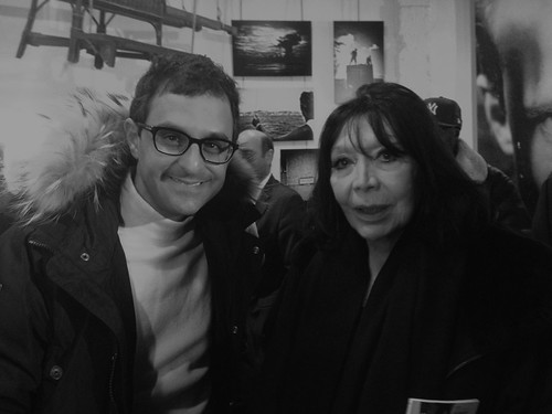 Madame Juliette Gréco et Arash Derambarsh (Maison de Boris Vian à Paris) by Arash Derambarsh