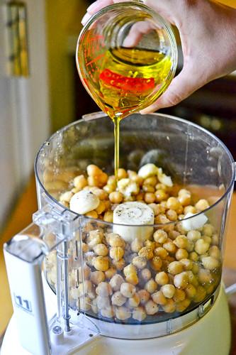 Hummus with Parmesan Herb Pita Chips 15