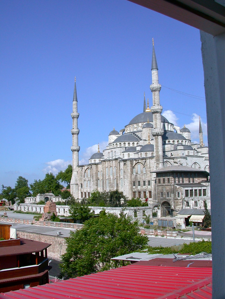 View of the Blue Mosque from the room