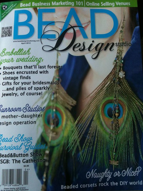 Beth Millner Jewelry in Bead Design Studio Magazine April 2012