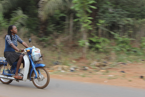 Obolo Village Female Motorcyclist - Enugu State, Nigeria by Jujufilms