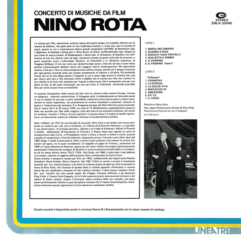Nino Rota - Concerto di musiche da film