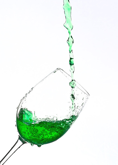 Raise a glass of Green