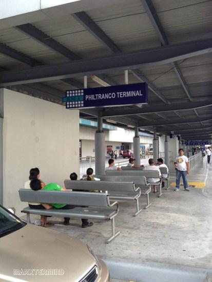 Philtranco Bus Terminal at SM Megamall