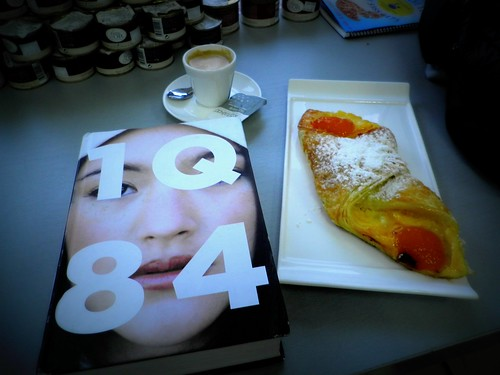 1Q84 @ french bakery