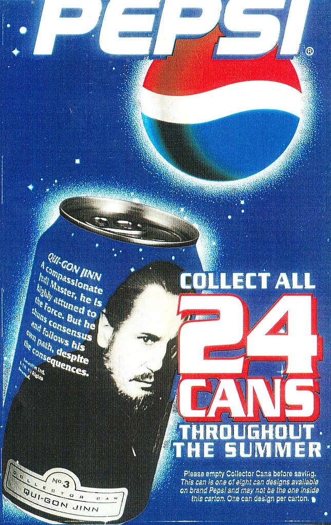 Episode I character cans
