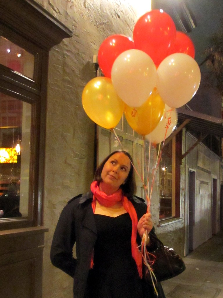 Les ballons. Photo by Pat Zimmerman.