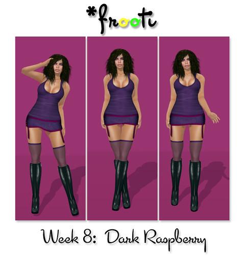 Frooti - 52 WoC - Dark Raspberry