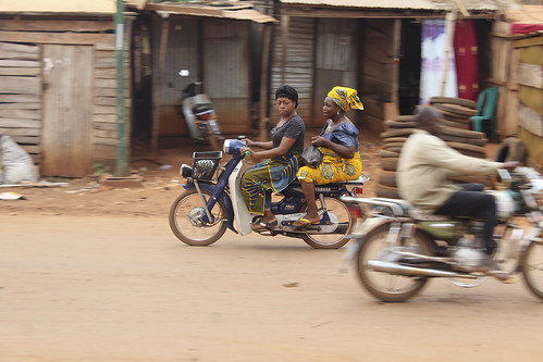 Iheaka Enugu State Nigeria Female Motorcyclists by Jujufilms