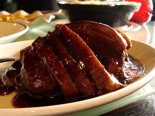 Braised Shanghai sweet soy duck